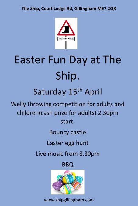 Easter Fun Day poster - 2017-04-16